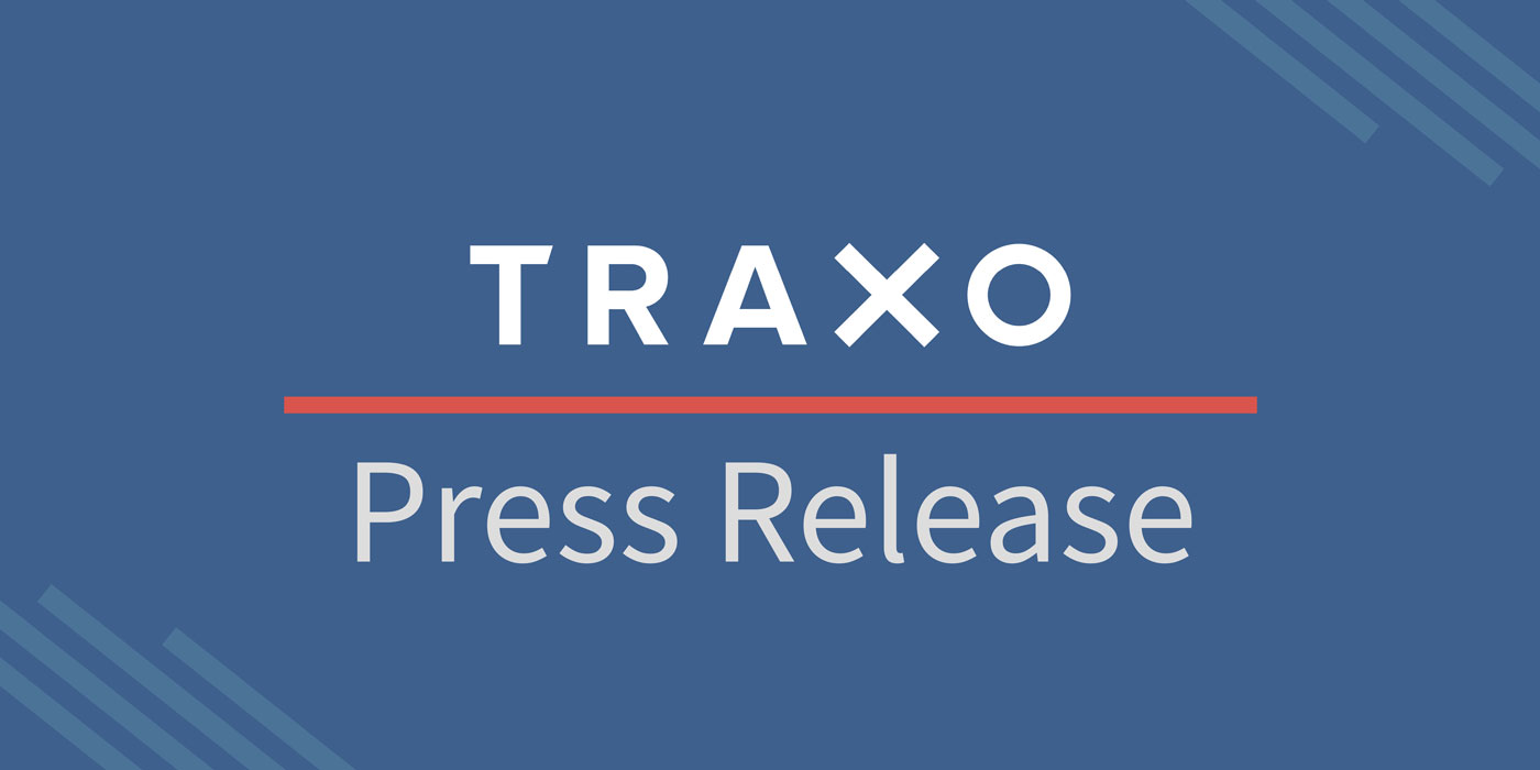 Traxo Press Release Decorative Image