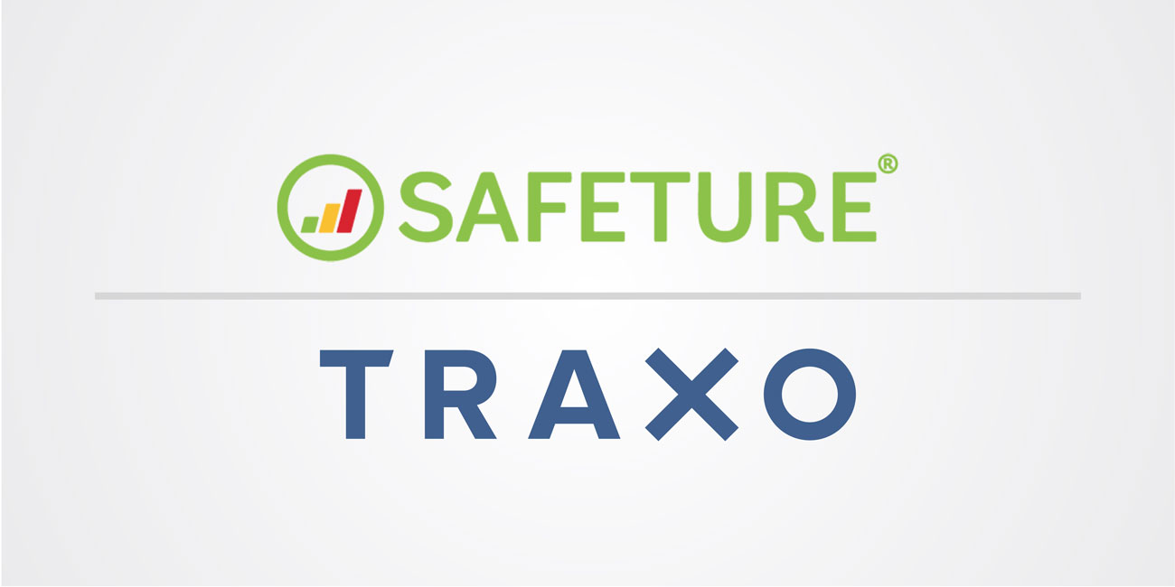 Safeture and Traxo Logos